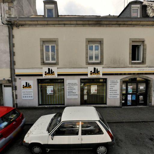 CENTURY 21 Ouest Commerces - Agence immobilière - Quimper