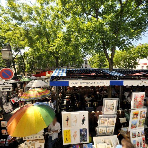 Place du Tertre - Attraction touristique - Paris