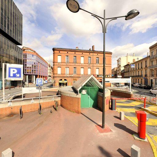 Parking Gare Marengo - Parking public - Toulouse