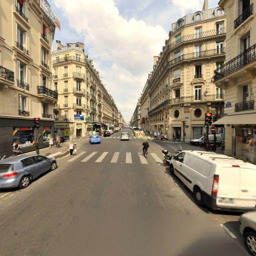 Station Vélib' Taitbout - La Fayette - Vélos en libre-service - Paris