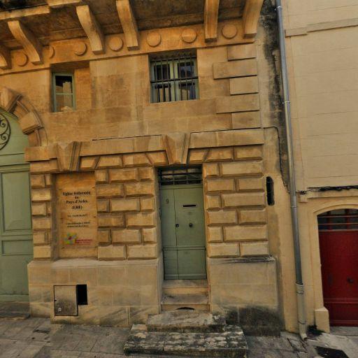 Temple protestant d'Arles - Musée - Arles