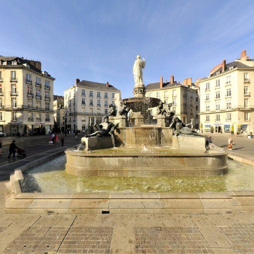 Fontaine de la Place Royale - Attraction touristique - Nantes