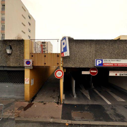 Parking Adamville - Parking - Saint-Maur-des-Fossés