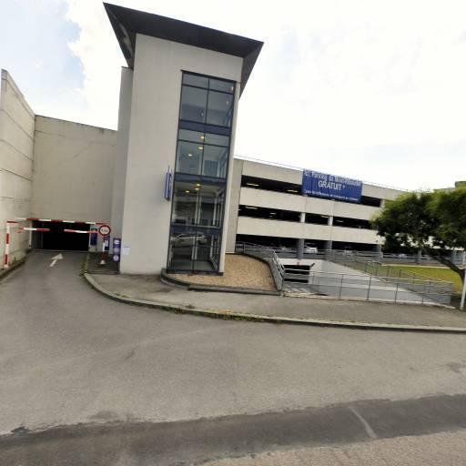 Parking Mont-Riboudet Kindarena - Parking - Rouen