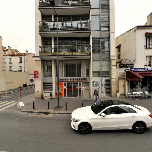 Caisse d'Epargne Ile de France - Banque - Montreuil