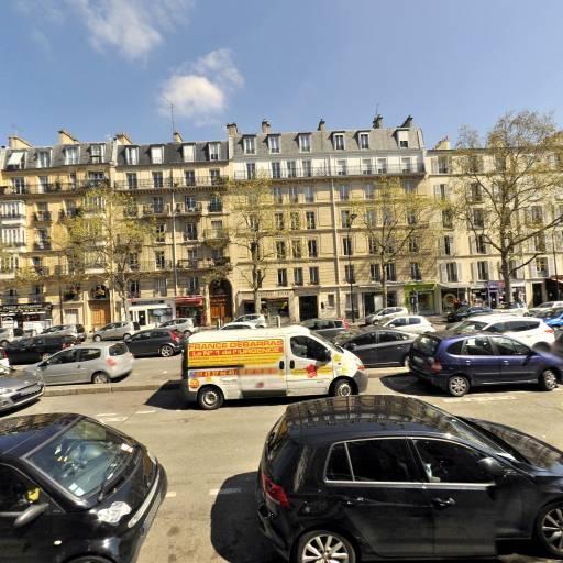 Station Vélib' Exelmans - Versailles - Vélos en libre-service - Paris