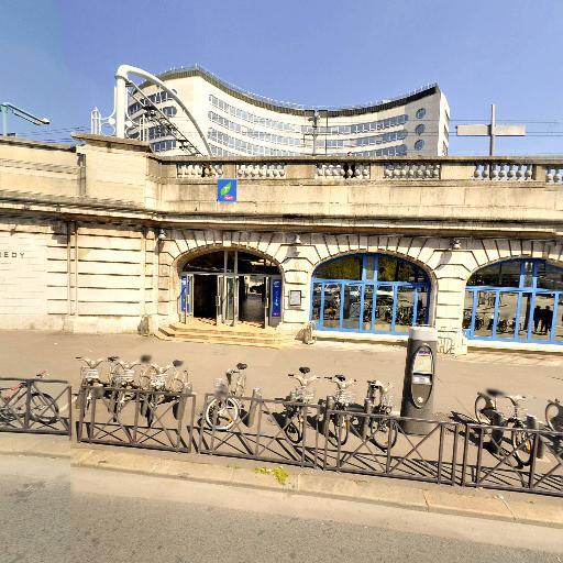 Station Vélib' Ranelagh - Maison de la Radio - Vélos en libre-service - Paris