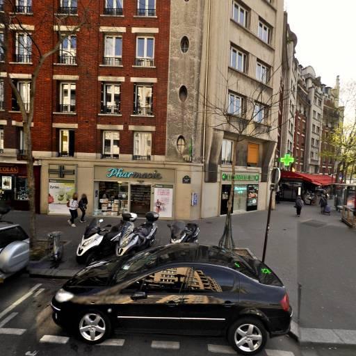 Station Vélib' Murat - Porte de Saint-Cloud - Vélos en libre-service - Paris