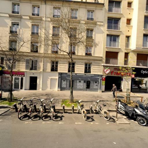Station Vélib' Versailles - Claude Terrasse - Vélos en libre-service - Paris