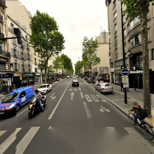 Square Ernest Chausson - Parc et zone de jeu - Paris