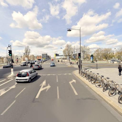 Station Vélib' Place Fernand Forest - Vélos en libre-service - Paris