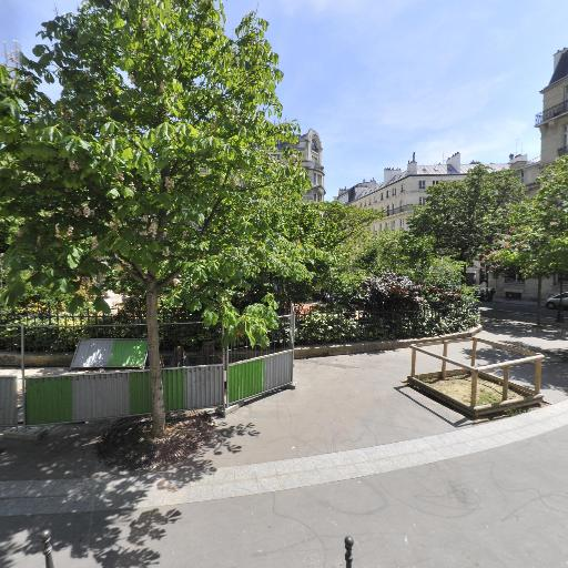 Square Berlioz - Parc et zone de jeu - Paris