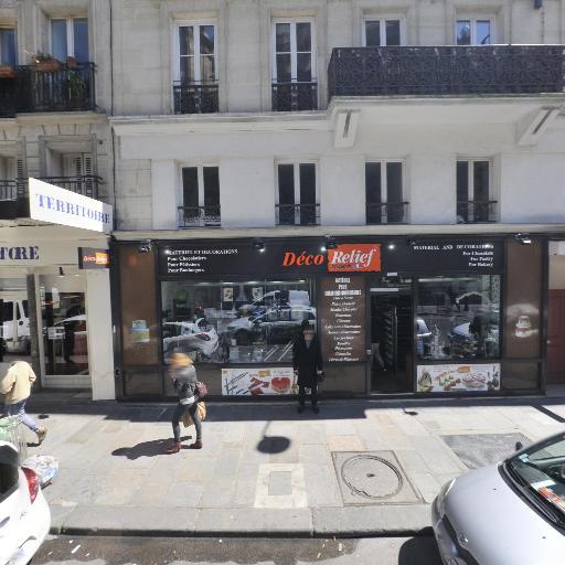 Deco Relief - Fabrication d'articles de cuisine - Paris