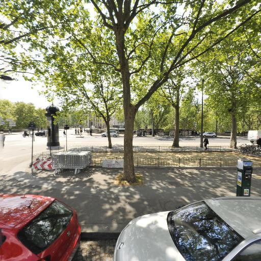 Jardin du Bataillon de l'Onu - Terrain de pétanque - Paris