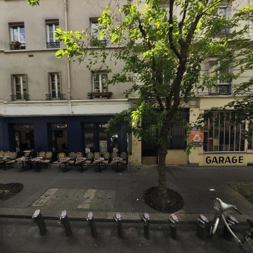 Station Vélib' Parmentier - Hôpital Saint-Louis - Vélos en libre-service - Paris