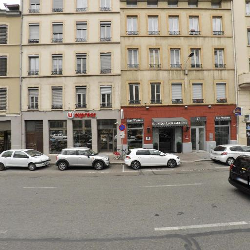 Best Western Crequi Lyon Part Dieu - Restaurant - Lyon