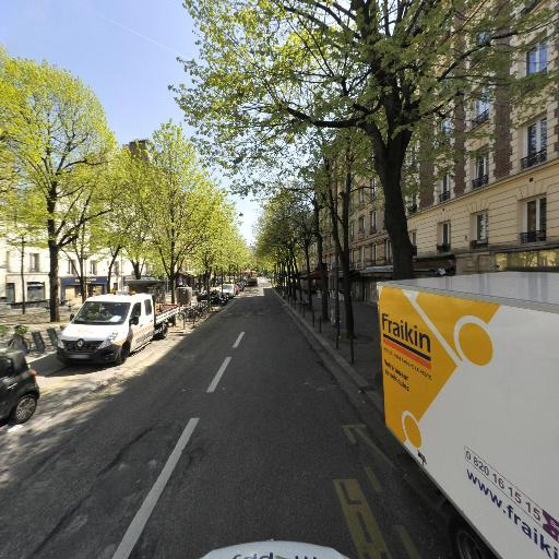 Station Vélib' Sorbier - Ménilmontant - Vélos en libre-service - Paris