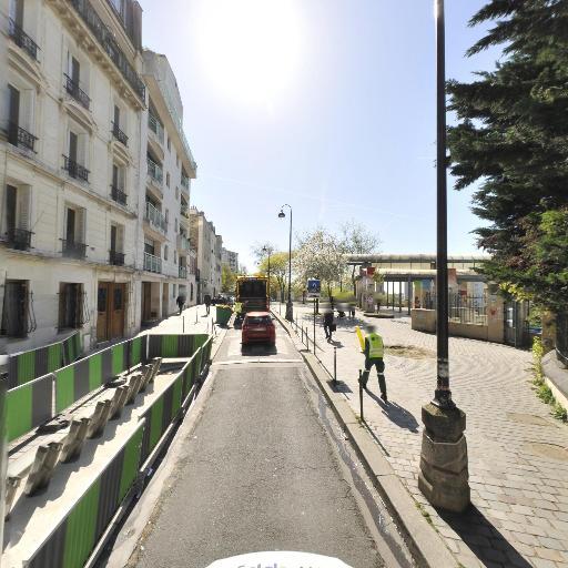 Station Vélib' Piat - Parc de Belleville - Vélos en libre-service - Paris