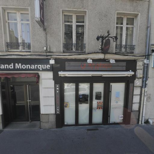 Hotel The Originals du Grand Monarque Nantes Gare - Restaurant - Nantes
