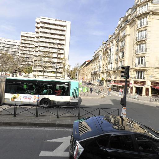 Station Vélib' Place Charles Vallin - Vélos en libre-service - Paris